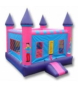 Princess Castle Bouncer 13'L X 13'W