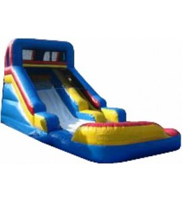 "Slide N'Splash Dry/Wet Slide 27'6""'L X 12'8""W X 14'H"