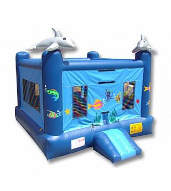 Sea World Bouncer 14'L X 14'W