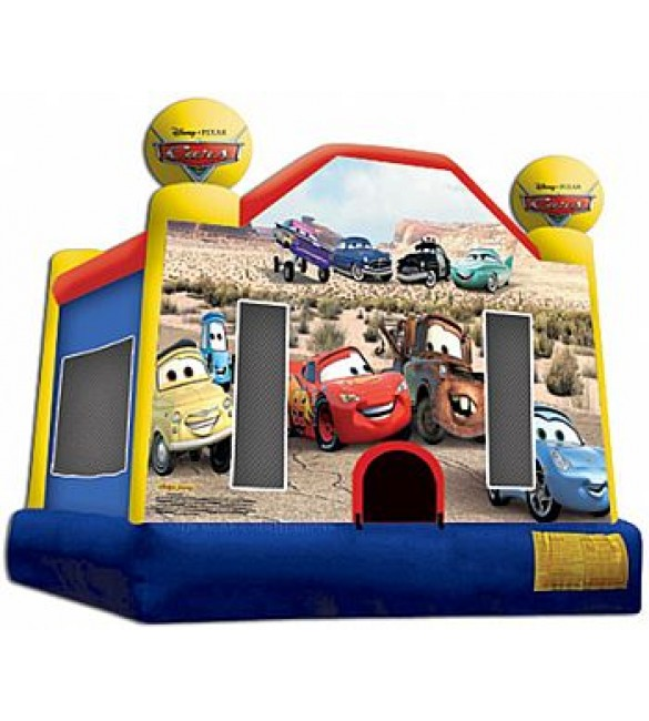 Cars Bouncer 13'L X 13'W