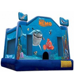 Finding Nemo Bouncer 13'L x 13'W x 12'H