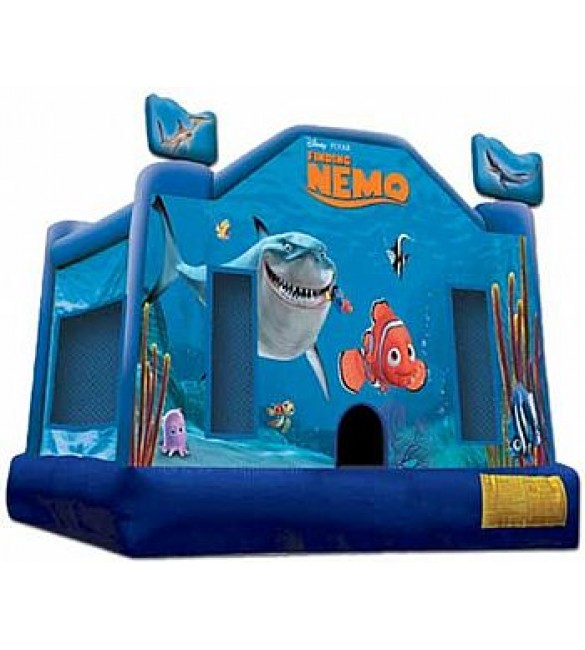 Finding Nemo Bouncer 13'L x 13'W x 12'H