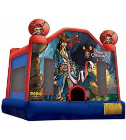 Pirates of the Caribbean Bouncer 13'L x 13'W x 13'H